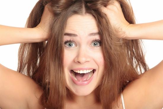 Problemas com cabelo
