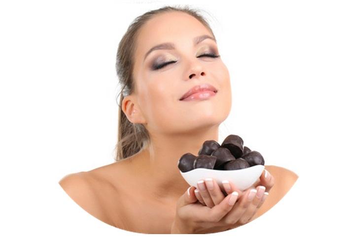 bombom de chocolate com picolinato de cromo