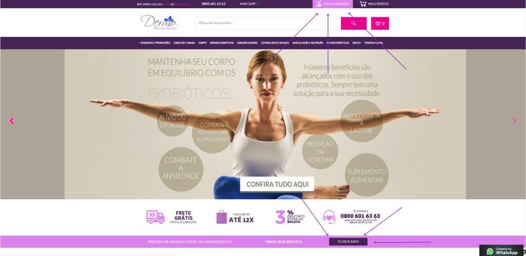 manipulação de medicamento online