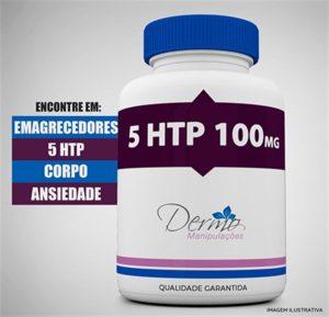 5 htp 100mg para emagrecer inibidor natural da ansiedade
