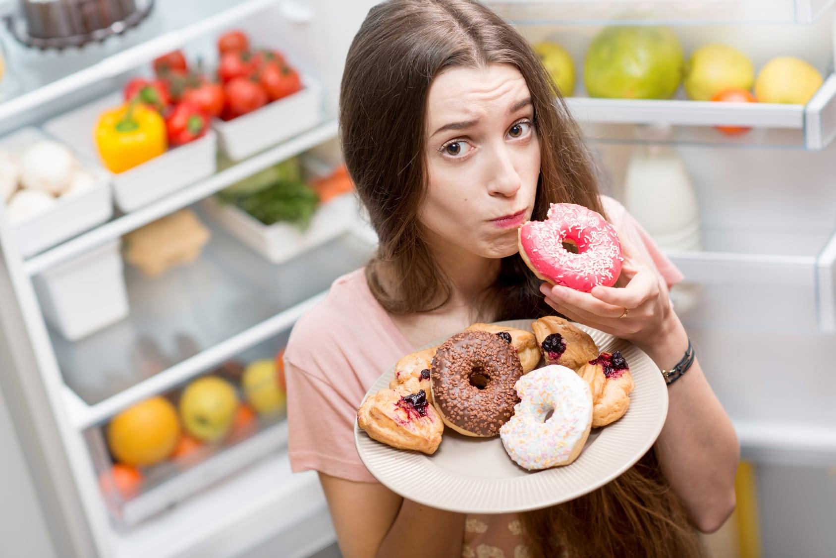 como controlar compulsão alimentar