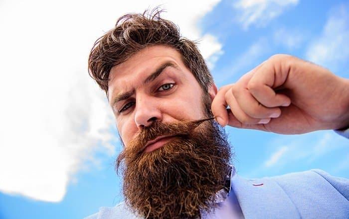 como fazer a barba crescer