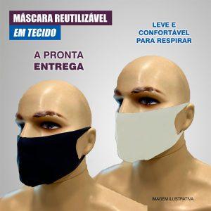 máscara de tecido para o rosto máscara de proteção reutilizavel