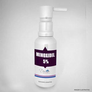 minoxidil 5 solução capilar para homens e mulheres com 60ml