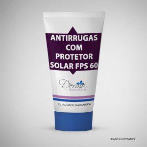 antirrugas com protetor solar fps 60 efeito dermo relax 90 gramas