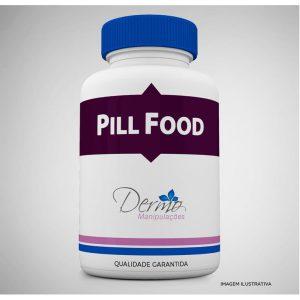 pill food complexo vit pele cabelos e unhas 60 capsulas