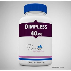dimpless 40mg cápsula para redução da celulite 30 cápsulas