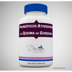 frasco Probióticos ativadores da queima de gordura